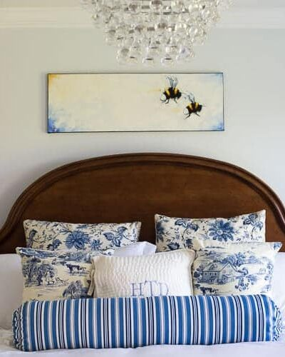 Our blue bedroom reveal.