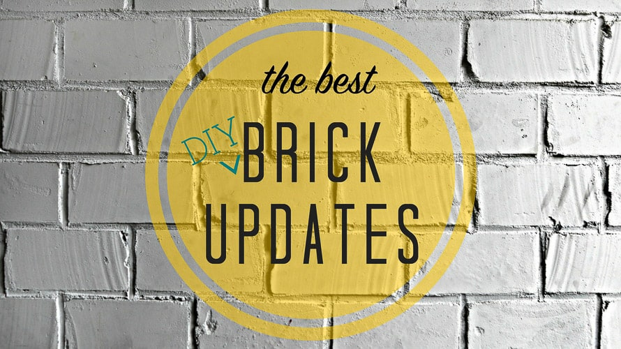 We've a Brick House. The best updates for brick fireplaces, exterior brick, uses for thin brick and more.