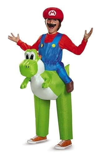 Inflatable Super Mario costume