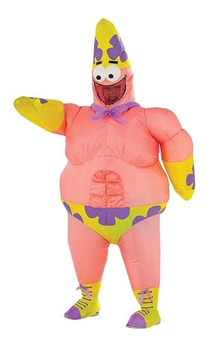 inflatable Spongebob Squarepants costume