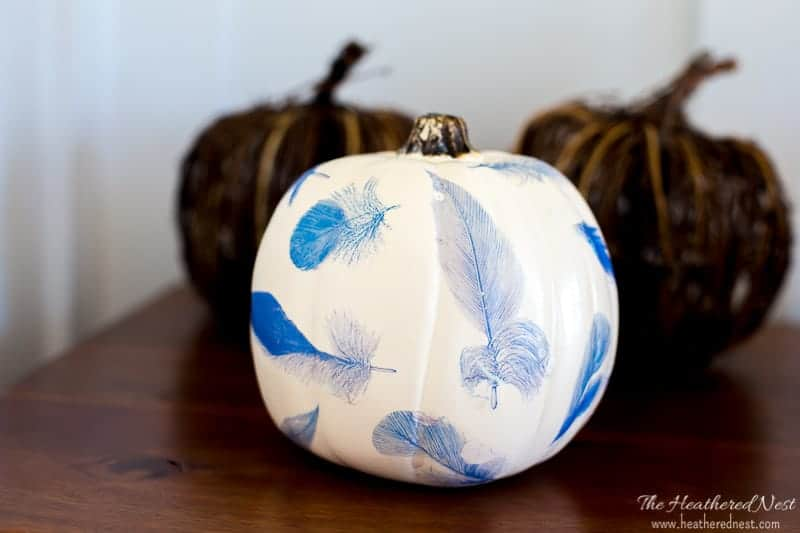 Tattoo Paper Craft Pumpkins