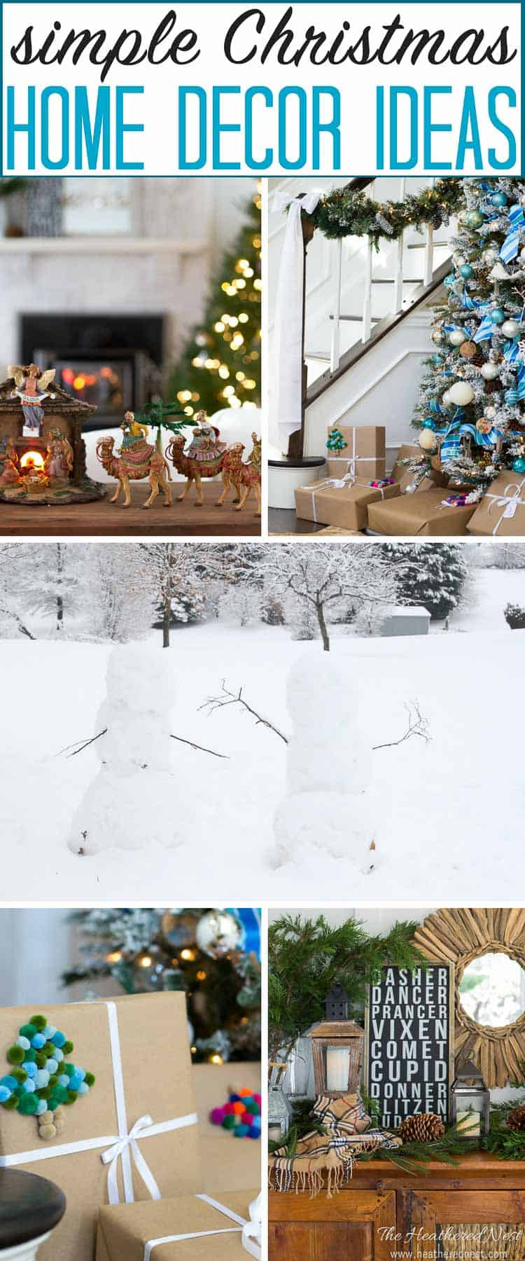 simple and classic christmas home decor ideas...lovely holiday home tour!! simple and classic christmas home decor ideas...lovely holiday home tour!! #DIYchristmashomedecorideas #simplechristmashomedecor #elegantchristmashomedecor #christmashomedecoronabudget