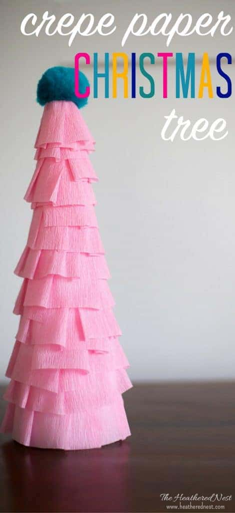 this easy paper christmas tree craft is inexpensive and made in less than - Easy Paper Christmas Decorations