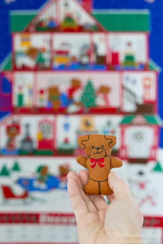 A Beary Merry Christmas Advent Calendar for kids