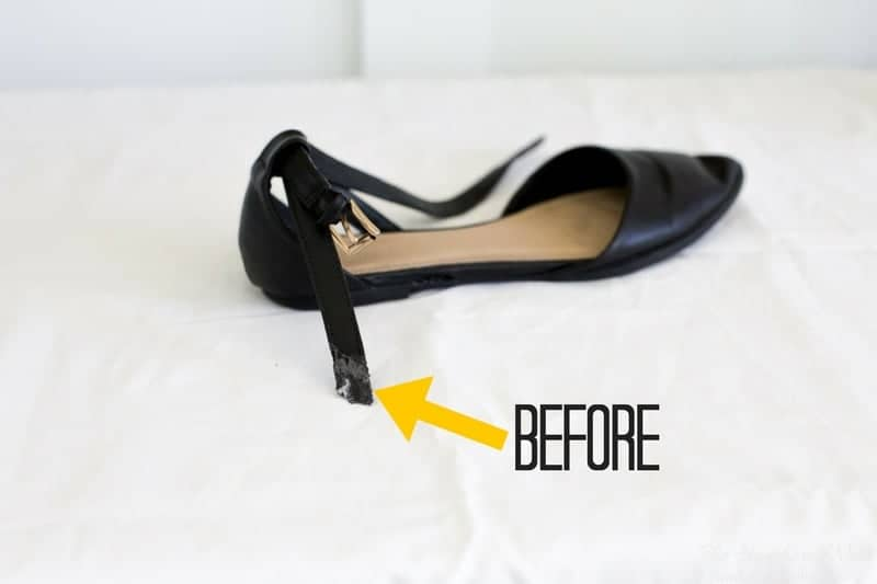 shoe glue will it work for you the heathered nest. Black Bedroom Furniture Sets. Home Design Ideas