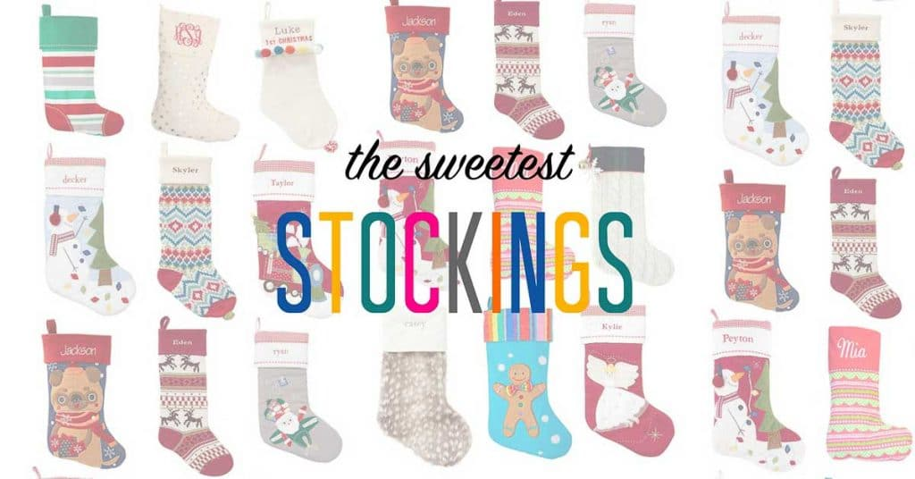 The Sweetest Kids Stockings