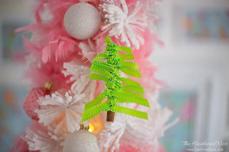 Christmas Tree Cinnamon Ornaments Stick Craft