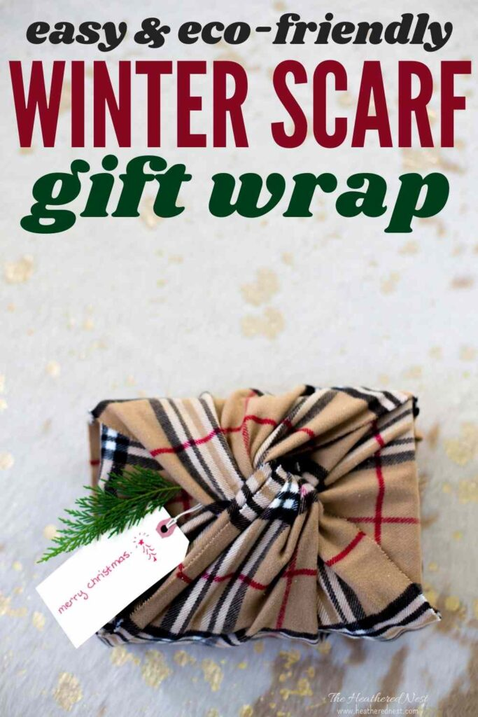 easy, eco-friendly gift wrap they'll want to keep