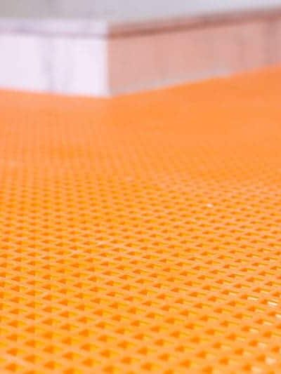 Why we chose Schluter Ditra XL Tile Underlayment