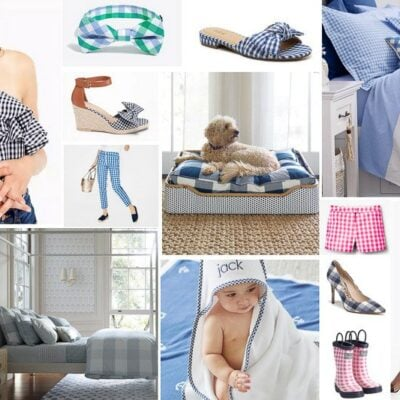 the best gingham prints for your home and closet, all rounded up in one spot!