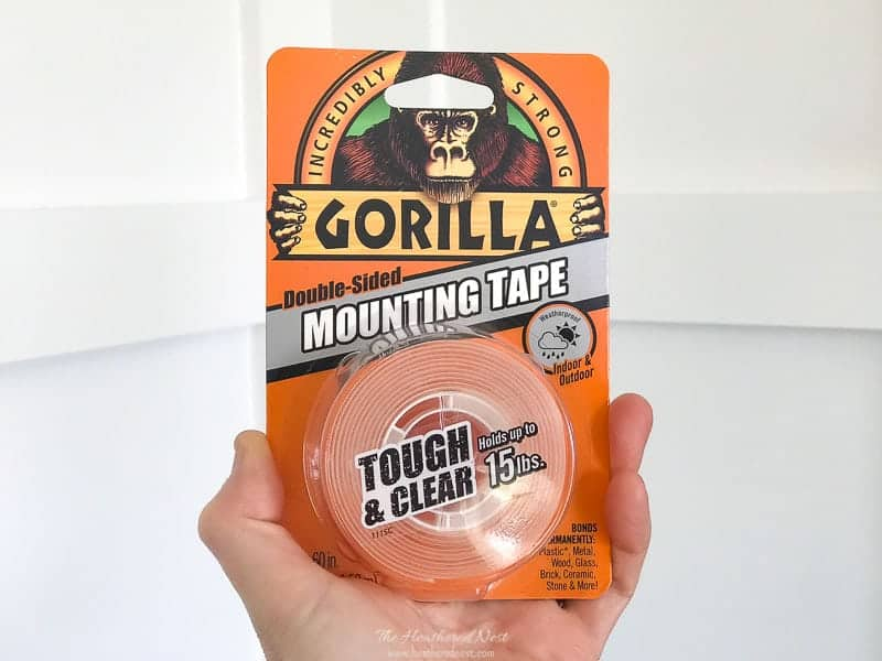 Gorilla Glue Clear Double Sided Mounting Tape product photo