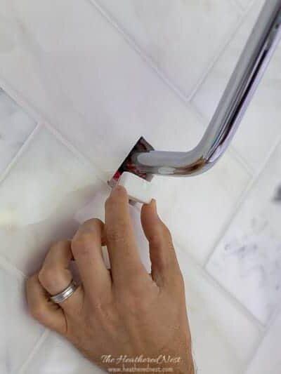 DIY Tile Repair with Gorilla Glue Mounting Tape