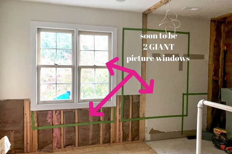 window planning image for grey bathroom renovation