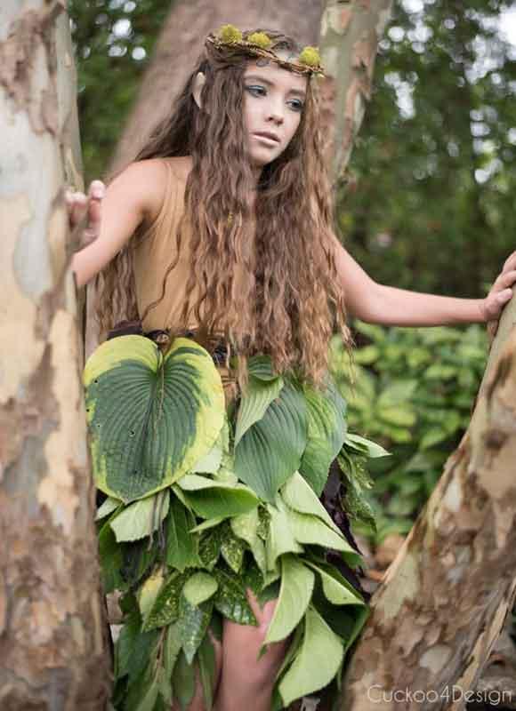 last minute halloween costume idea - woodland elf