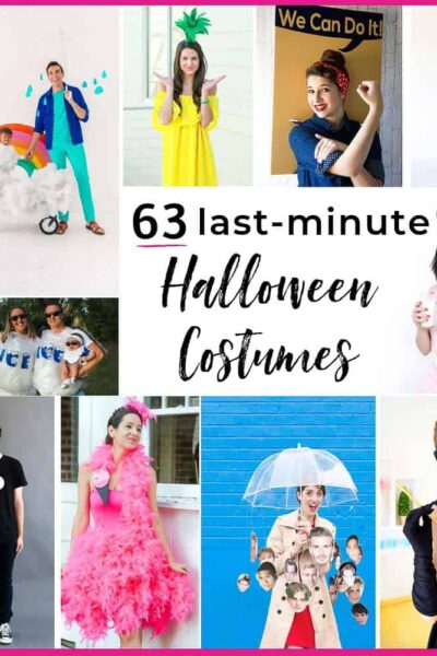 63 Halloween Costumes Last Minute Planners Will Love