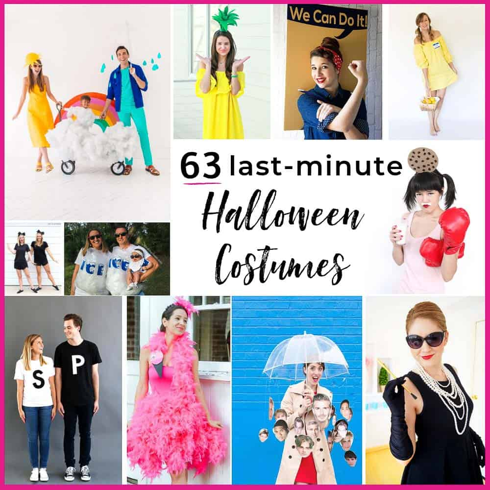 ec0284be816 63 Halloween Costumes Last Minute Planners Will Love