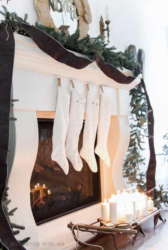 handmade stockings - European inspired