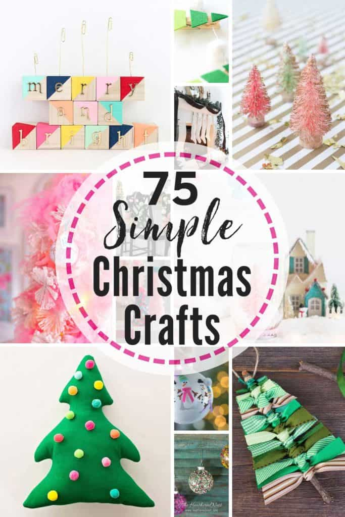 75 Easy Christmas Crafts That Bloggers Love The Heathered Nest