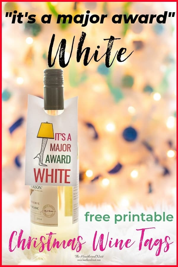 graphic regarding Diy Gift Tags Free Printable named Xmas Wine Cost-free Printable Reward Tags + Preferred Do it yourself Present
