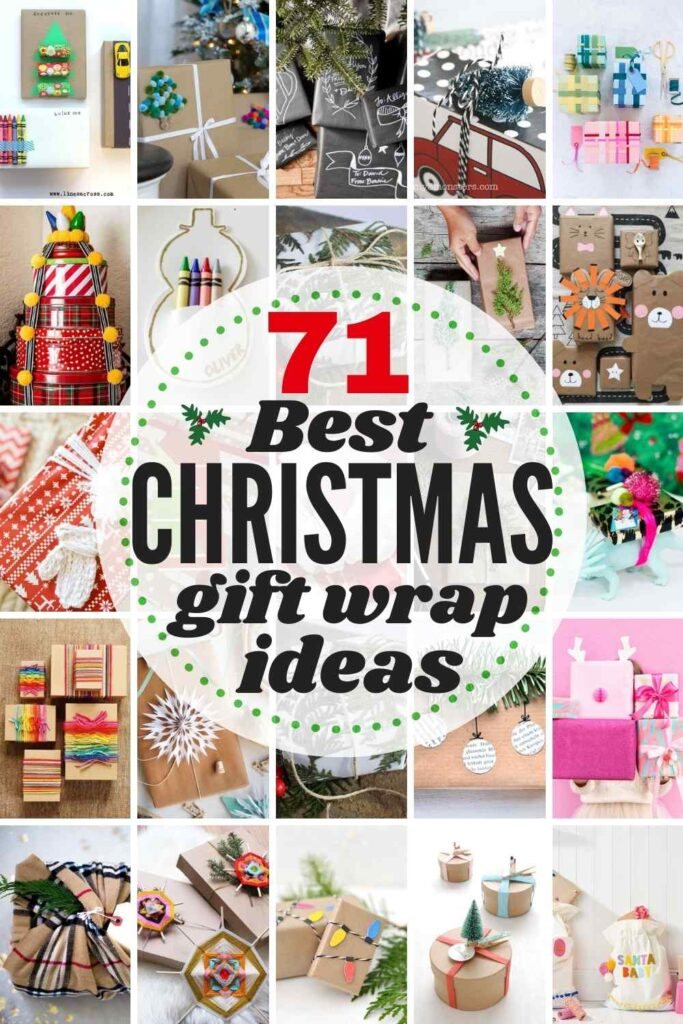 71 BEST Christmas Wrapping Ideas