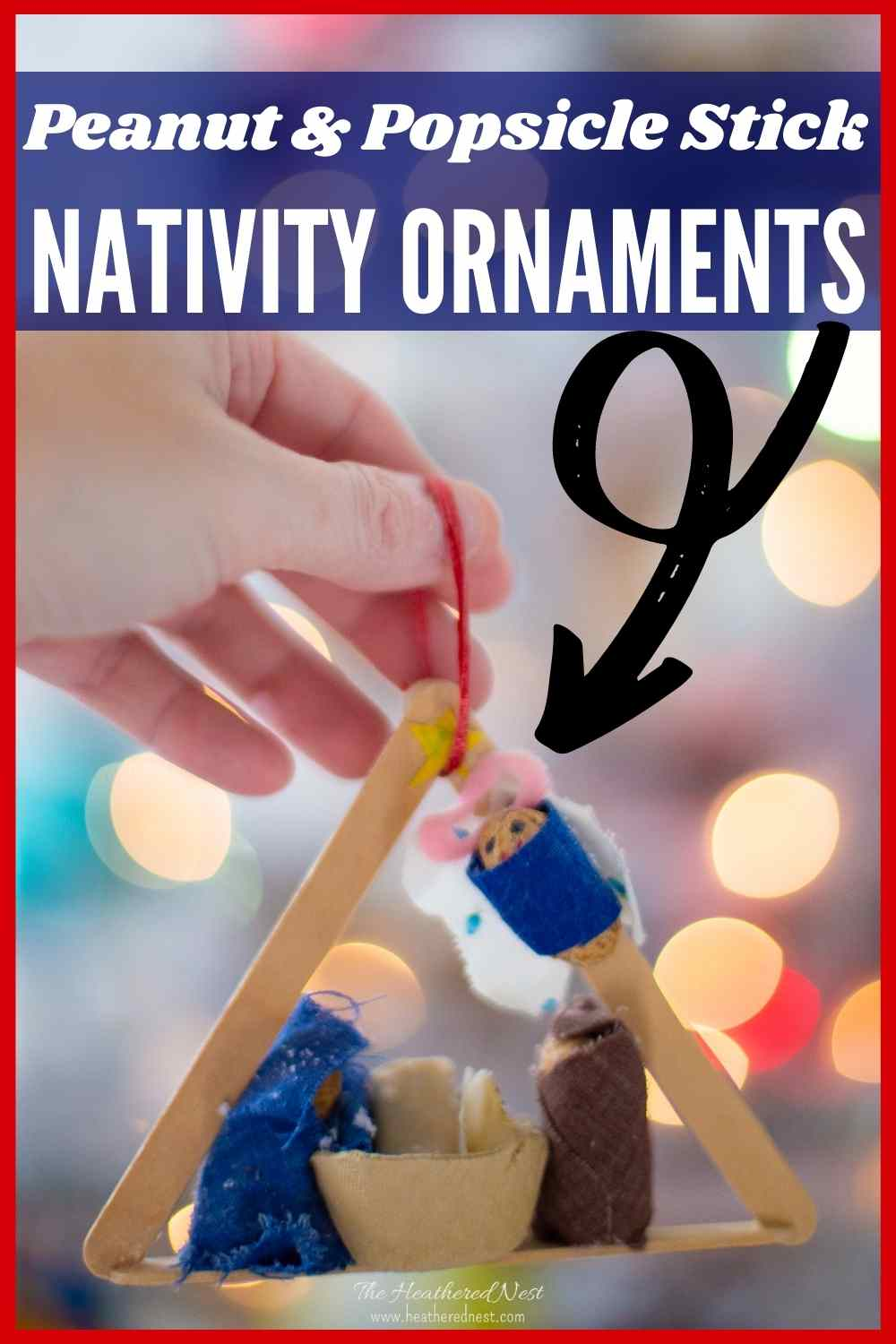 DIY Nativity Ornament Craft for Kids