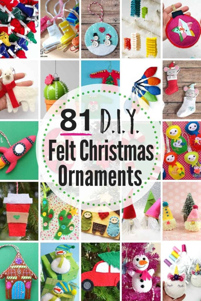 81 BEST DIY Felt Christmas Ornaments #felt #Christmas #ornaments #ChristmasCrafts #ChristmasOrnaments #DIY #feltornaments #feltchristmasornaments #feltchristmasornamentspatterns #DIYfeltchristmasornaments #DIYfeltchristmasornamentspatterns