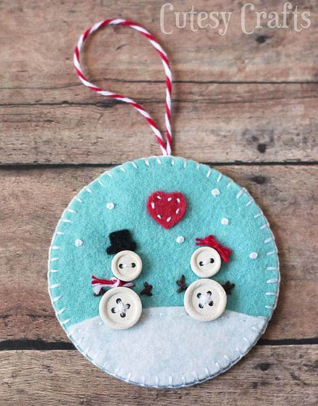 81 Best Diy Felt Christmas Ornaments The Heathered Nest