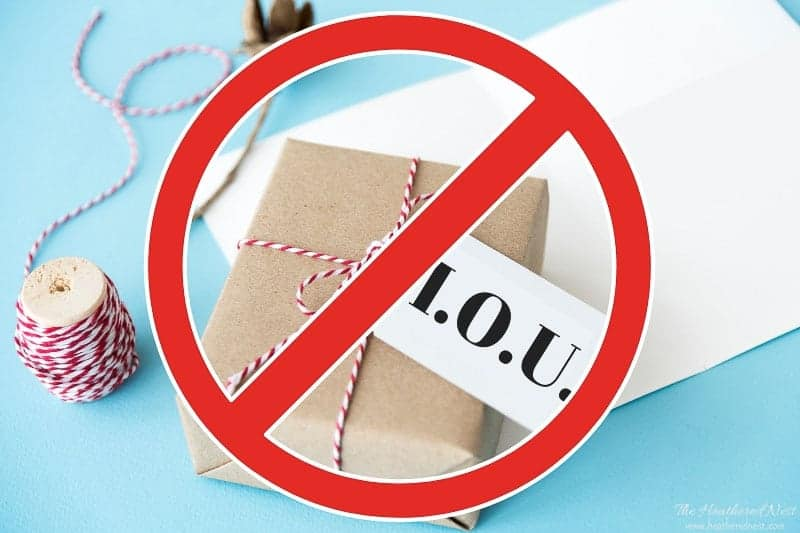 """Googled, """"gift ideas for wife"""" recently? Here are 9 ideas you should absolutely NOT use: 9. an IOU"""