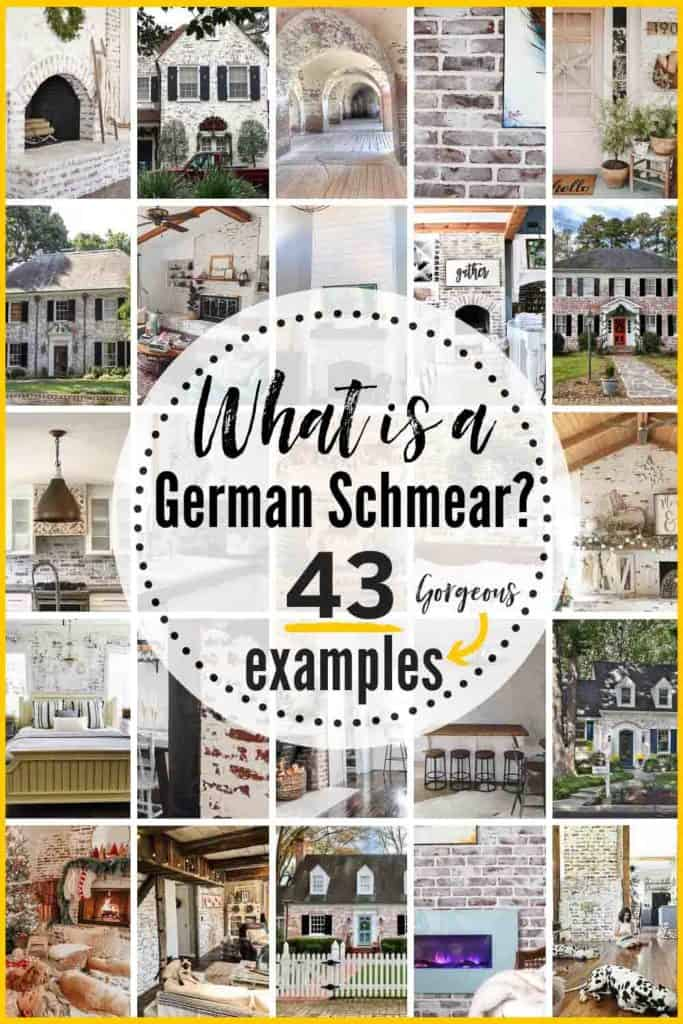 grid with 25 examples of german smear projects. text overlay reads 43 beautiful german smears