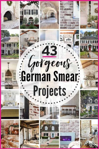 43 BEST German Smear projects!! Love the German schmear brick look from Fixer Upper? Confused what the difference between German Schmear, German smear, whitewashed brick, limewashed brick, and painted brick is? Here are your answers #brick #brickfireplacemakeover #brickbacksplashkitchen #germansmear #germanschmear #germanschmearhouse #fixerupper #germansmearbrick #germansmearbrickexterior #germansmearfireplace #germansmearbrickfireplace #brickfireplace #brickwallinterior #brickhouseexterior #brickmakeover #brickupdate #germanschmearbrick #germanschmearfireplace #germanschmearbrickexterior #germanschmearbrickfireplace #DIY #DIYgermansmear #DIYgermanschmear #mortarwash #mortarwashbrick #germansmearvswhitewash #germansmearvslimewash #joannagaines #heatherednest
