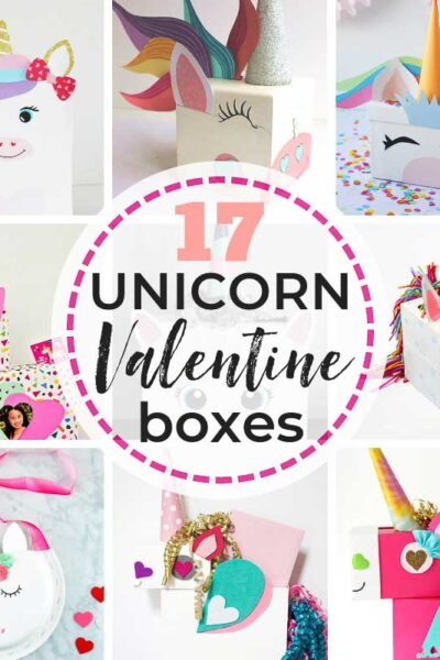 17 Easy UNICORN Valentine Box Ideas + Tutorials from brilliant craft & DIY bloggers to save yourself from struggling this Valentine's Day! #unicorn #unicornvalentinebox #valentineboxideas #unicorns #unicornvalentines #unicornvalentineboxes #DIYunicornvalentineboxes #howtomakeaunicornvalentinebox #easyunicornvalentinebox #unicornvalentineboxforkids #valentineboxes