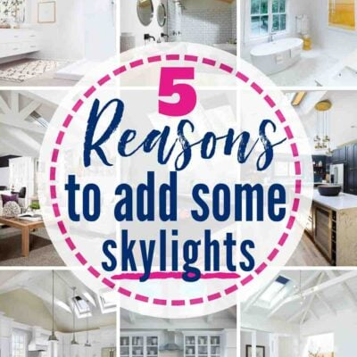 5 great reasons to add skylights to your home! #skylights #suntunnels #veluxskylights #skylightshades #skylightblinds