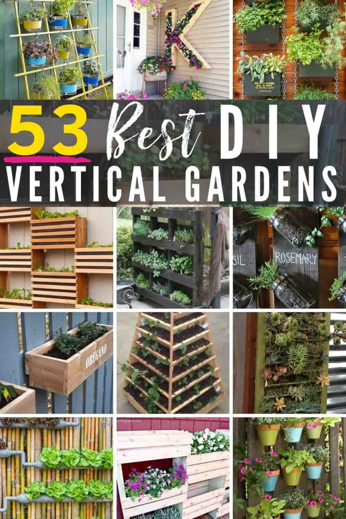 Vertical Garden Design With Gazebo Installation 53 BEST 🌱DIY Vertical Garden Designs! Regardless of how much space or DIY  know
