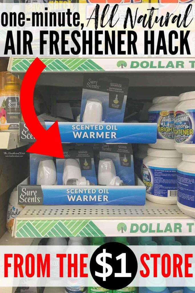 Need An ALL NATURAL Air Freshener Solution? Here's a Dollar Tree DIY Deodorizer Hack You Can Make In Under One-Minute. This Is The Easiest, Best Plugin Air Freshener Solution Out There! #deodorizer #airfreshener #allnaturalairfreshener #naturalairfreshener #roomfreshener #automaticairfreshener #howtomakeyourhousesmellgood #makeyourhousesmelllikeaspa #roomairfreshener #roomdeodorizer #airfreshenerhack #essentialoil #essentialoils