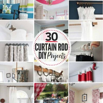 30 DIY curtain rods - the best from around the www and the blogosphere