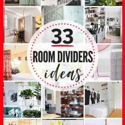 33 RAD Room Divider Ideas & DIY Room Dividers