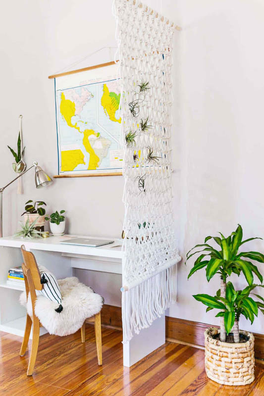 30+ Amazing Room Divider Ideas - Beautiful Mess macrame room divider