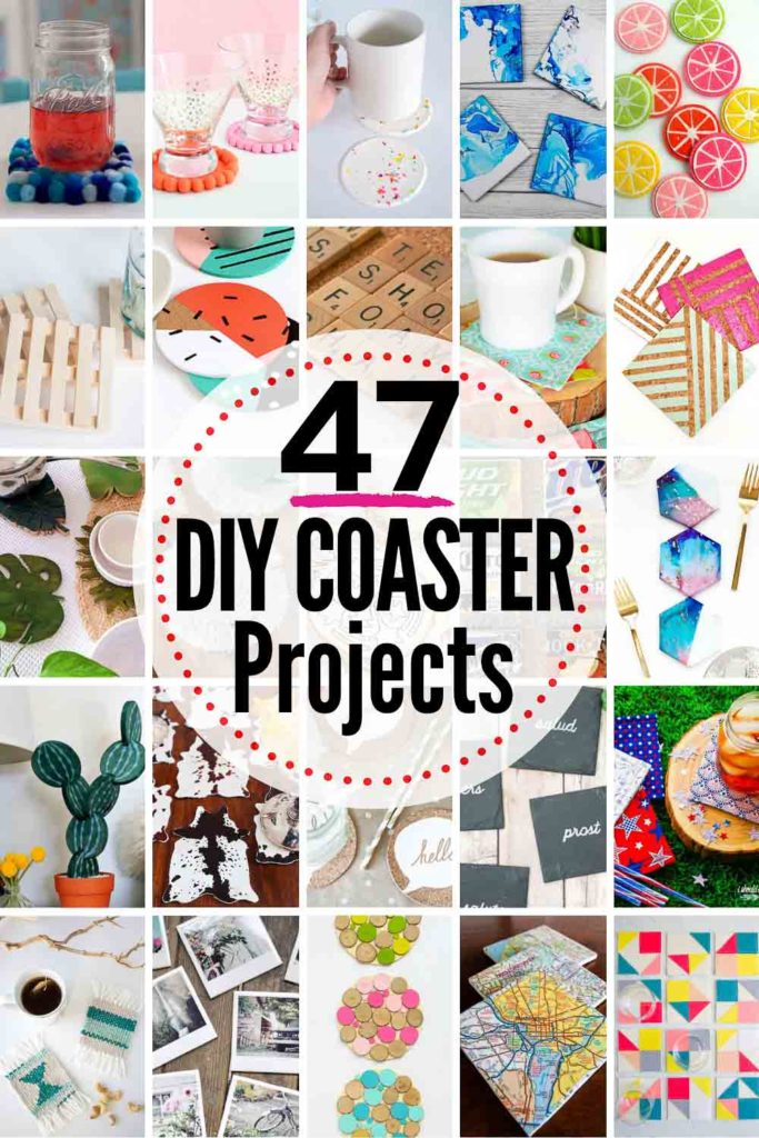 47 Clever Diy Coasters Projects The Heathered Nest