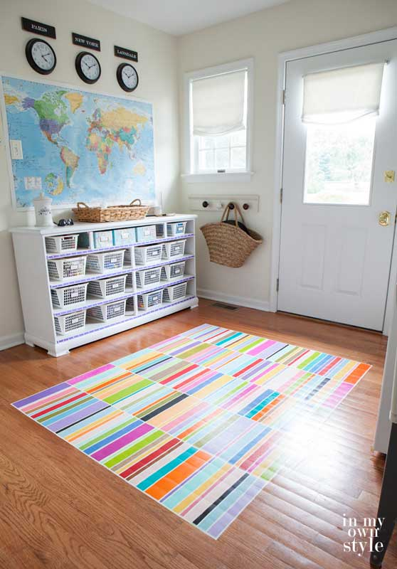 40+ AMAZING DIY Painted Floor Ideas |