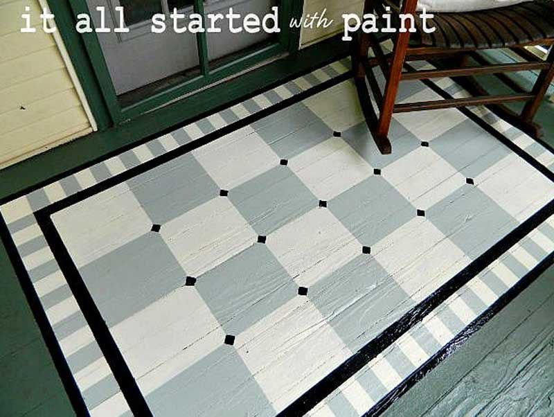 47 Painted Floor Ideas That Will Wow You The Heathered Nest