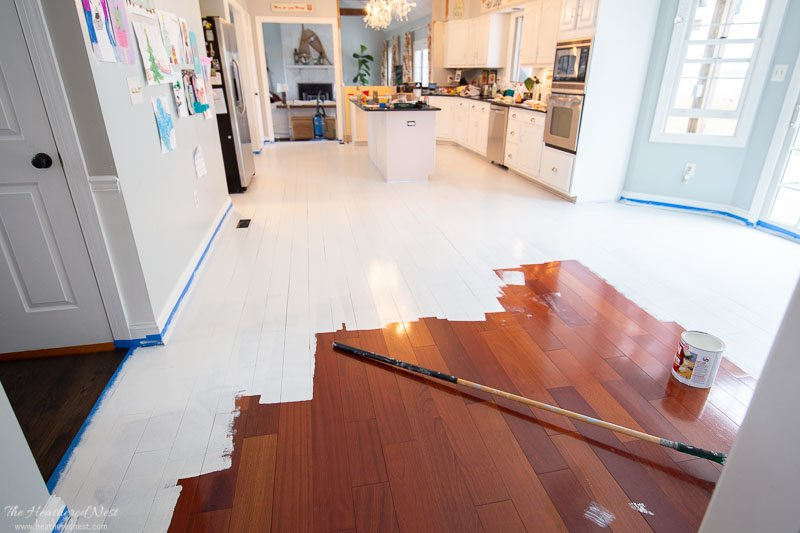 To Paint Wood Floors Without Sanding