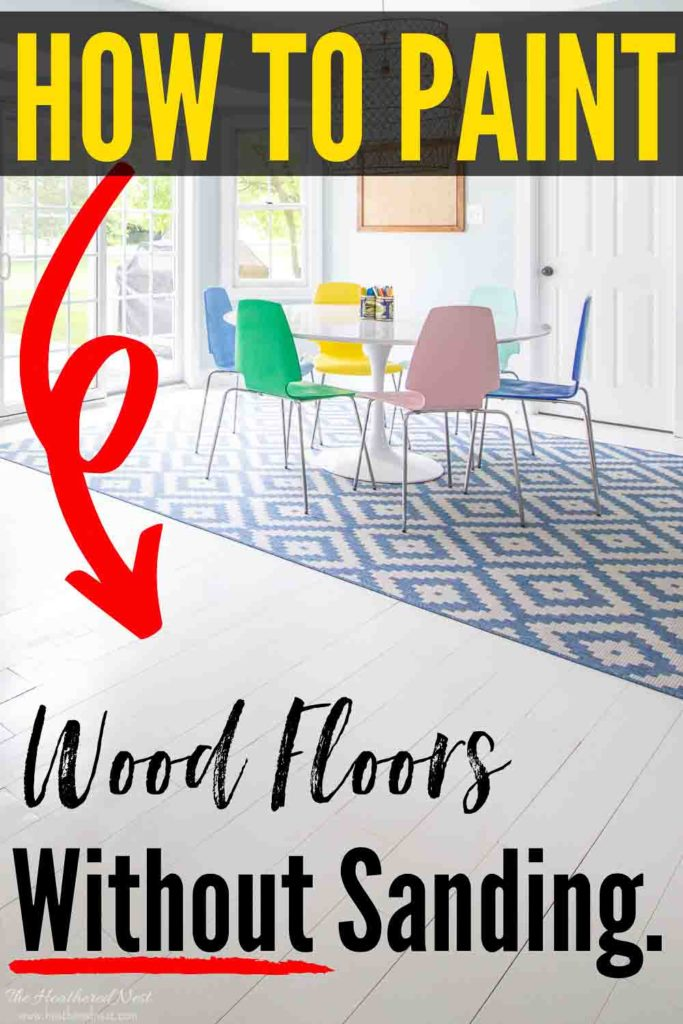Painted Hardwood Floors | How To Paint Wood Floors