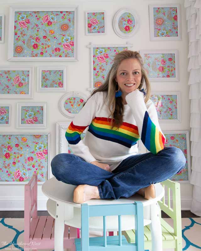Rainbow sweater- retro 1980s is BACK in a big rainbow-y way! Rainbow Clothing and Rainbow Decor are really popular right now. Here are some favorites!