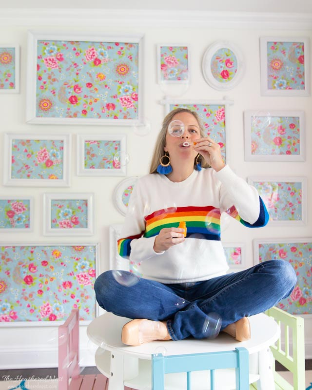 You can't be sad when you're wearing a rainbow! Retro 1980s rainbow-chic fashion is back! Rainbow Clothing and Rainbow Decor are really popular right now. Here are some favorites!