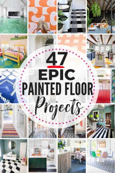 These 47 Painted Floor Ideas will WOW you!