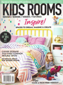 Better Homes and Gardens Kids Room Magazine Cover 2019