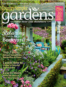 Country Sampler Gardens Edition Cover 2019