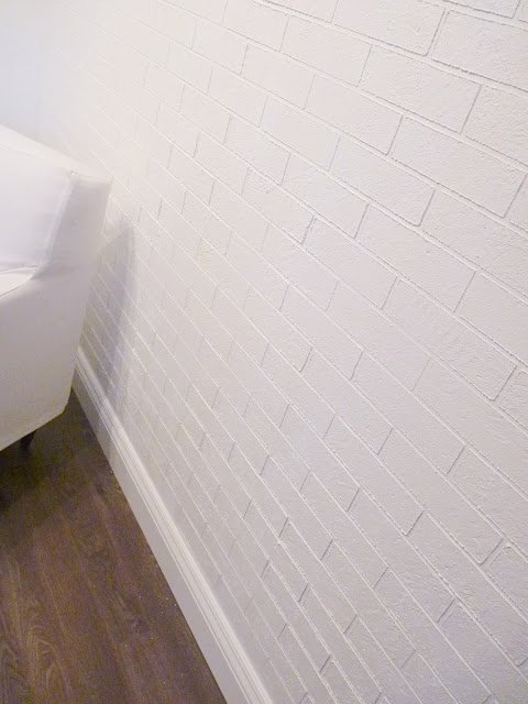 Faux Painting Techniques that don't SUCK   Stucco Faux Brick Wall