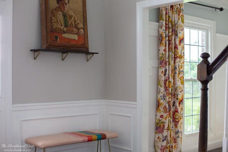 Llumar Window Film after installation on dining room windows