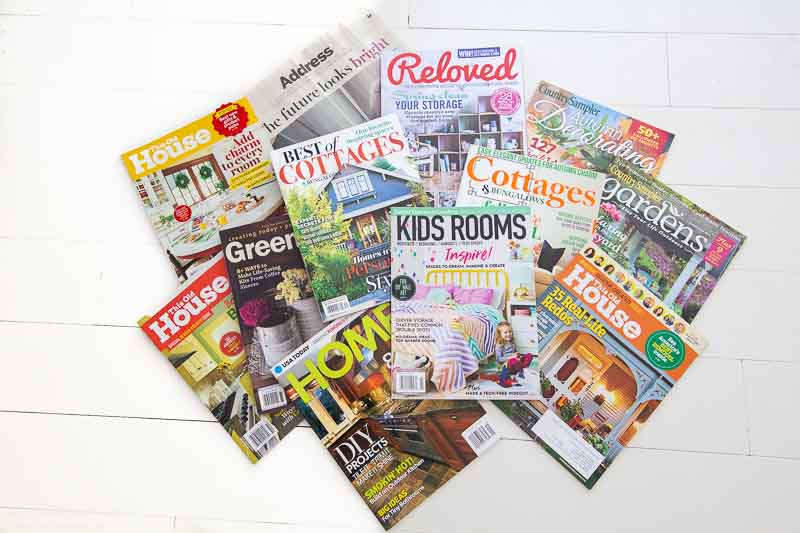Every nursery design and kids' bedroom design we've done has been published! Nesting e-design services - provider of online interior design services for kids rooms only! Nursery design, girl room design, boy room design and playroom design is all we do! Image of magazines in which we've been published.